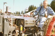 Antique tractors exemplify era where we saw how things worked.